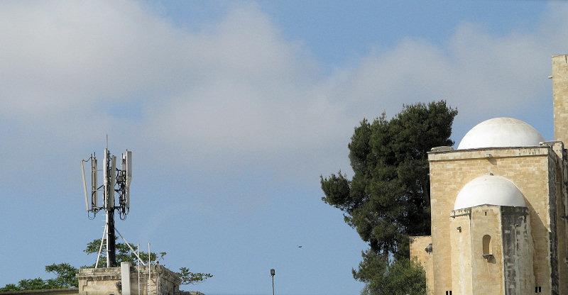 BTS v novějších částech Jeruzaléma