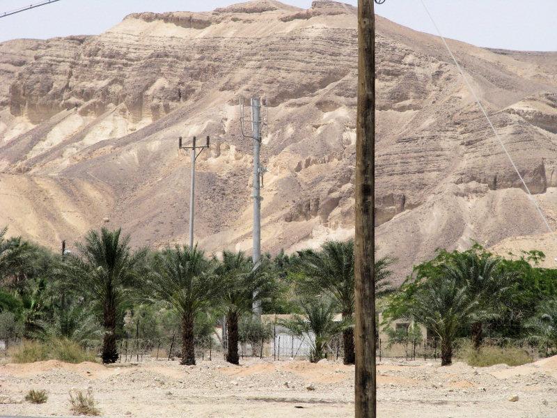 BTS na trase od Mrtvého moře do Eilatu na jihu